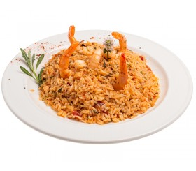 Risotto with shrimps